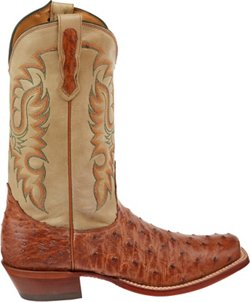 Nocona Boots Men's Premium Full-Quill Ostrich Western Boots