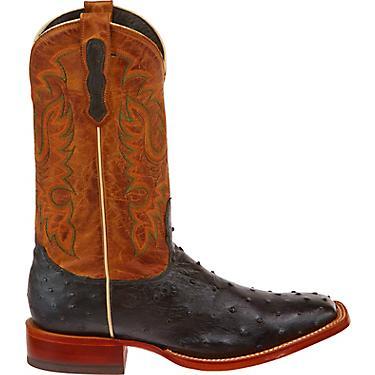 b7725bb6849 Nocona Boots Men's Premium Full-Quill Ostrich Western Boots