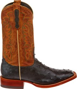 Men's Premium Full-Quill Ostrich Western Boots