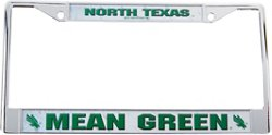 Rico University of North Texas Chrome License Plate Frame