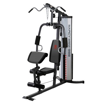 Marcy mwm 988 150 lb. stack home gym academy