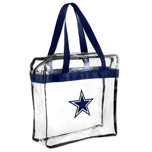 Team Beans Dallas Cowboys Clear Messenger Bag