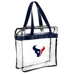 Houston Texans Clear Messenger Bag