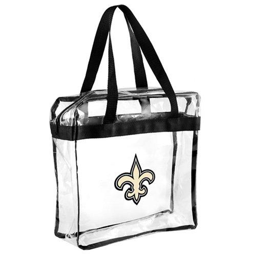 Team Beans New Orleans Saints Clear Messenger Bag