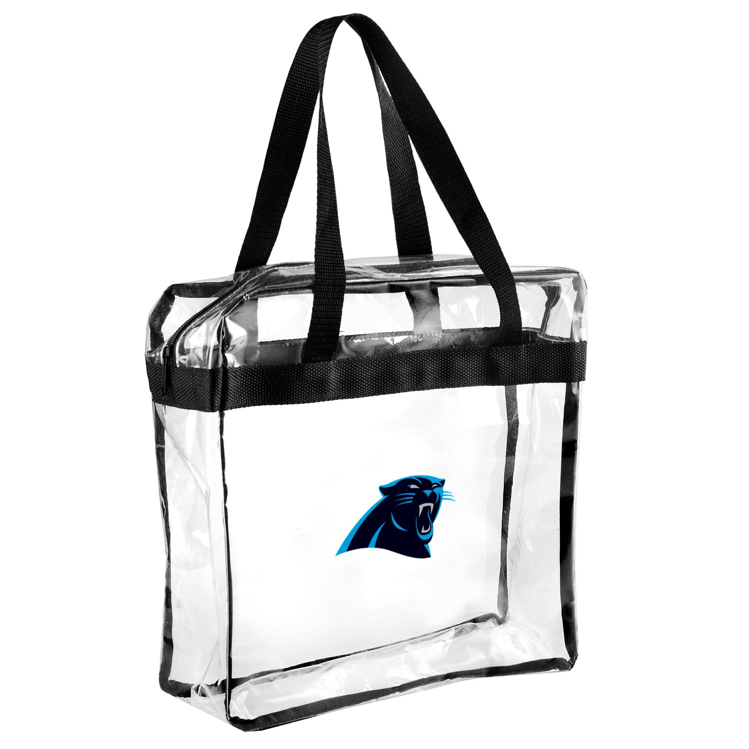 Display product reviews for Team Beans Carolina Panthers Clear Messenger Bag