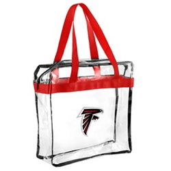 Team Beans Atlanta Falcons Clear Messenger Bag