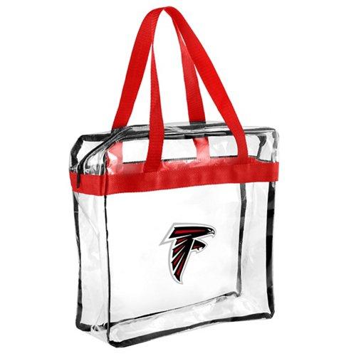 Team Beans Atlanta Falcons Clear Messenger Bag