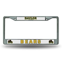 Rico Baylor University Chrome License Plate Frame