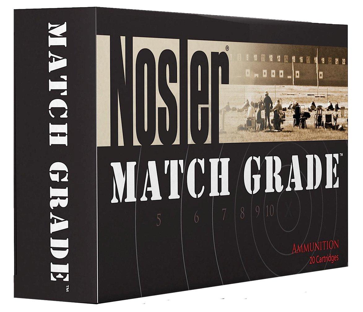 Nosler Match Grade  300 AAC Blackout/Whisper 7 62 x 35mm 125-Grain  Centerfire Rifle Ammunition