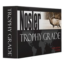 Custom Trophy Grade .338 Lapua Magnum 300-Grain Centerfire Rifle Ammunition