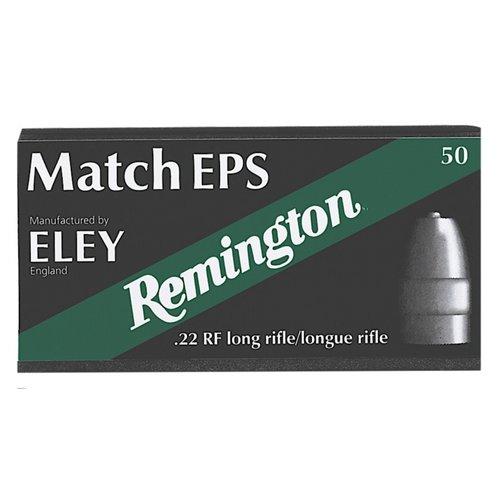 Remington Eley Match EPS .22 Long Rifle 40-Grain Rimfire Ammunition