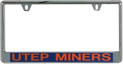 Stockdale University of Texas at El Paso Mirror License Plate Frame