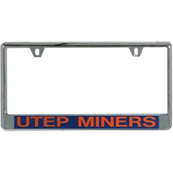 University of Texas at El Paso Mirror License Plate Frame