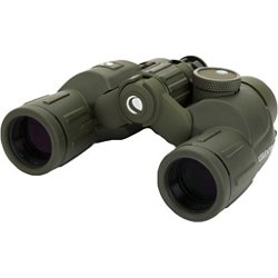 Cavalry Binoculars with Compass and Reticle