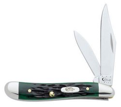 Case® Cutlery 6220 Pocket Worn Bone Stainless-Steel Peanut Folding Knife