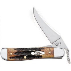 Case® Cutlery 6.5 Bone Stag Russlock Folding Knife