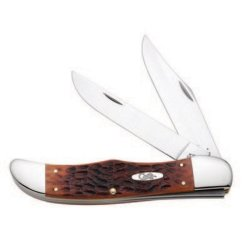Case® Cutlery Smooth Chestnut Bone Folding Hunter Knife