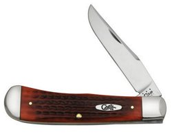Case® Cutlery Pocket Worn Old Red Bone Back Pocket Folding Knife