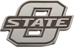 Stockdale Oklahoma State University Chrome Freeform Auto Emblem