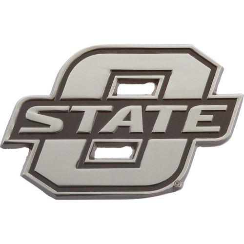Stockdale Oklahoma State University Chrome Freeform Auto Emblem