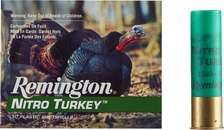 Remington Nitro Turkey 12 Gauge Buffered Loads