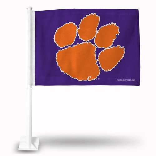 Rico Clemson University Car Flag