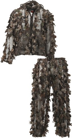 Game Winner Men's Instacover 3-D Leafy Camo Hunting Suit