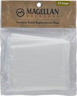Magellan Outdoors Jon Bag Portable Toilet Replacement Bags 12-Pack