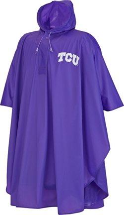 Storm Duds Adults' Texas Christian University Slicker Heavy Duty PVC Poncho