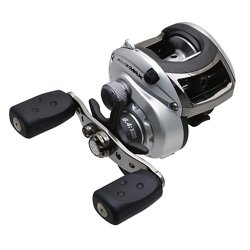 Silver Max Low-Profile Baitcast Reel Right-handed