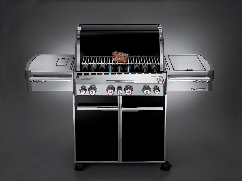 Weber® Summit® E-470™ 4-Burner Liquid Propane Gas Grill - view number 2