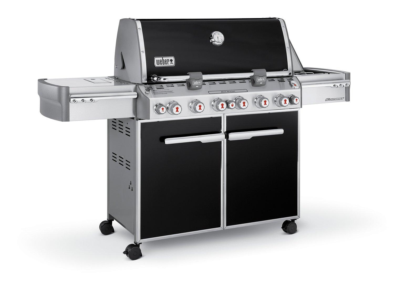 Weber® Summit® E-670™ 6-Burner Liquid Propane Gas Grill