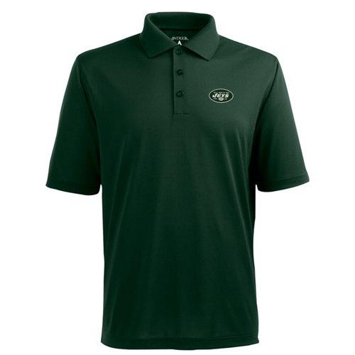 Antigua Men's New York Jets Piqué Xtra-Lite Polo Shirt