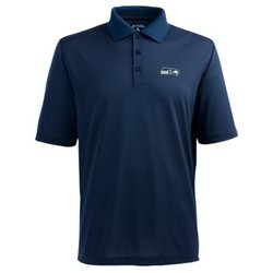 Men's Seattle Seahawks Piqué Xtra-Lite Polo Shirt