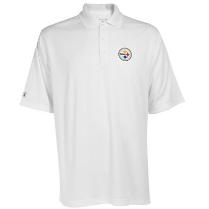 Antigua Men s Pittsburgh Steelers Exceed Polo Shirt  f520fb0ae