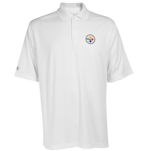 79bffdc1a Antigua Men s Pittsburgh Steelers Exceed Polo Shirt