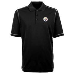 Men's Pittsburgh Steelers Icon Short Sleeve Polo Shirt
