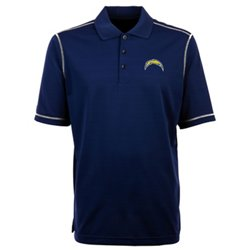 Men's Los Angeles Chargers Icon Short Sleeve Polo Shirt