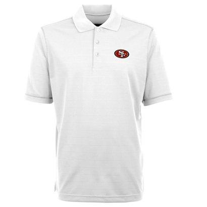 3129ce9d1 Antigua Men s San Francisco 49ers Icon Short Sleeve Polo Shirt