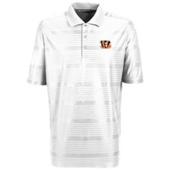 Antigua Men's Cincinnati Bengals Illusion Polo Shirt