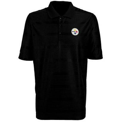 Antigua Men s Pittsburgh Steelers Illusion Polo Shirt  4db34eabd