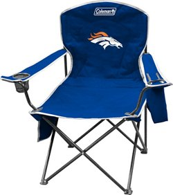 Coleman® Denver Broncos Cooler Quad Chair