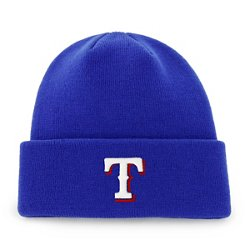 '47 Men's Texas Rangers Raised Cuff Knit Hat