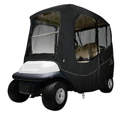 Deluxe Short Roof Golf Cart Enclosure
