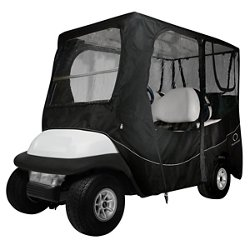 Deluxe Long Roof Golf Cart Enclosure