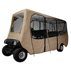 Deluxe Extra-Long Roof Golf Cart Enclosure