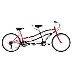 Adults' Dual Drive 26 in 21-Speed Tandem Bicycle