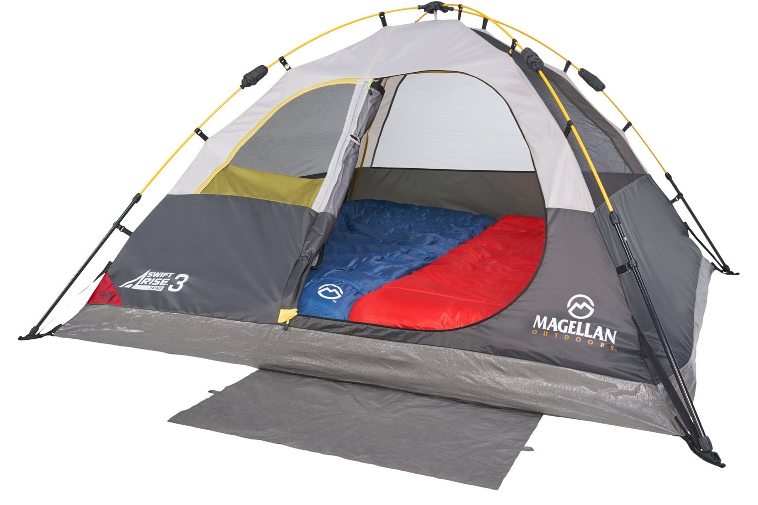Magellan Outdoors SwiftRise Instant 3 Person Dome Tent - view number 6