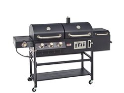 Outdoor Gourmet Triton Classic Gas/Charcoal Grill and Smoker Box