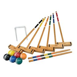 Sports 6-Player Classic Croquet Set